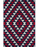 Momeni Baja Baj-5 Red Area Rug