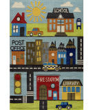 Momeni Lil Mo Whimsy Lmj12 Town Area Rug