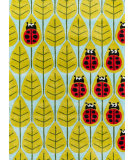 Momeni Lil Mo Whimsy Lmj13 Lady Bug Red Area Rug