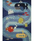 Momeni Lil Mo Whimsy Lmj21 Blue Area Rug