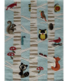 Momeni Lil Mo Whimsy Lmj29 Light Blue Area Rug