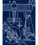 Momeni Lil Mo Hipster Lmt16 Navy Area Rug