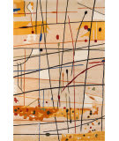 Momeni New Wave Nw-58 Beige Area Rug