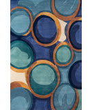Momeni New Wave Nw133 Blue Area Rug
