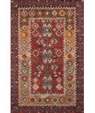 Momeni Tangier Tan-1 Red Area Rug