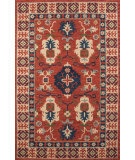 Momeni Tangier Tan-3 Red Area Rug