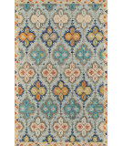 Momeni Tangier TAN17 Blue Area Rug
