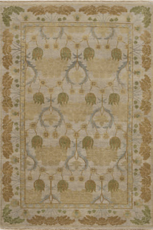 Momeni Arts And Crafts Ar-04 Beige Area Rug