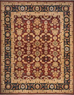 Momeni Bergamo Bg-10 Burgundy Area Rug