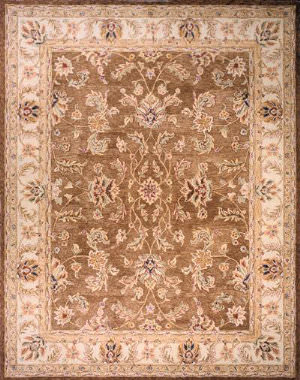 Momeni Camelot Cm-01 Brown Area Rug