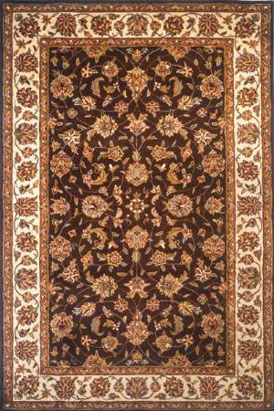 Momeni Cashmere Ca-01 Brown Area Rug