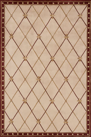 Momeni Harmony Ha-30 Red Area Rug