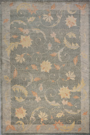 Momeni Lotus Lt-01 Teal Area Rug