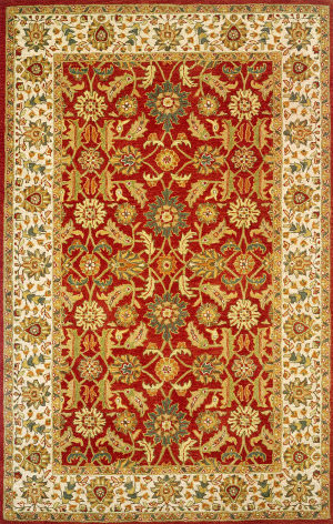 Momeni Mahal Mc-15 Red Area Rug