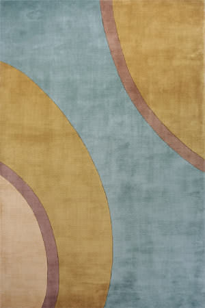 Momeni New Wave Nw-80 Teal Area Rug
