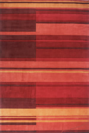 Momeni New Wave Nw-87 Red Area Rug