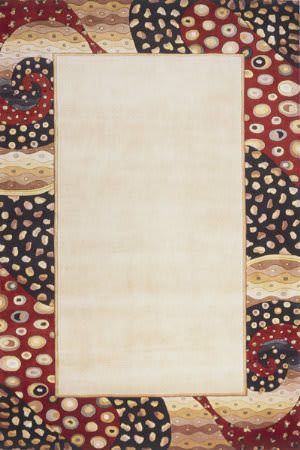 Momeni New Wave Nw-95 Ivory Area Rug
