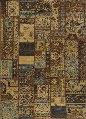 Momeni Vintage Vin11 Light Blue Area Rug