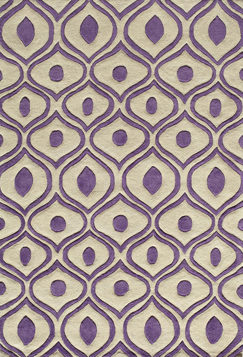Momeni Bliss Bs 09 Purple Area Rug Clearance 161849