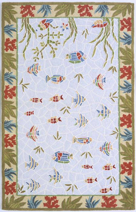 Momeni Coastal Cc 05 Light Blue Clearance Rug Studio