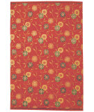 Nairamat Rugs Poppy 80 Knot Red Area Rug