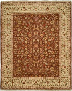 Natures Loom Asia Amana Chcr Chocolate/Creme Area Rug
