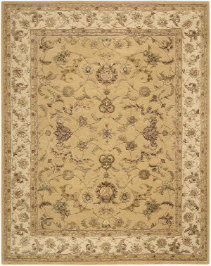 Nourison 3000 3104 Yellow Area Rug