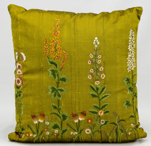 Nourison Pillows Silk Embroidery 7803 Green