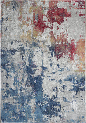 Nourison Global Vintage Glb10 Multicolor Area Rug