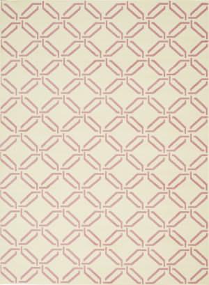Nourison Jubilant Jub17 Ivory - Pink Area Rug