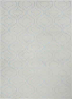 Nourison Jubilant Jub19 Ivory - Blue Area Rug