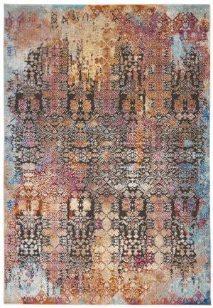 Nourison Entice Ene04 Multicolor Area Rug