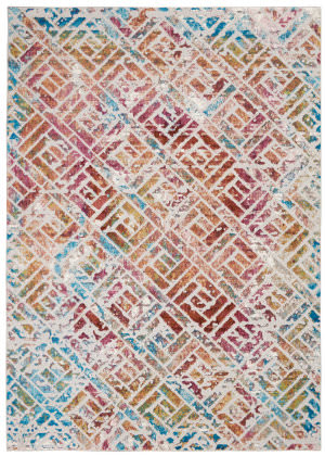 Nourison Entice Ene09 Grey - Multicolor Area Rug