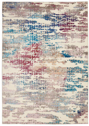 Nourison Entice Ene10 Ivory - Multicolor Area Rug