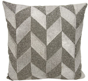 Nourison Mina Victory Pillows A0025 Grey Pewter