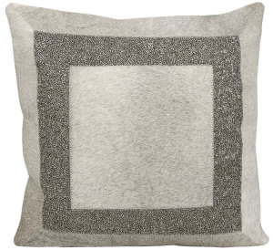 Nourison Mina Victory Pillows A0027 Grey Pewter