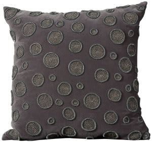 Nourison Pillows Luminescence A2179 Charcoal