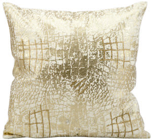 Kathy Ireland Pillows A3515 Gold