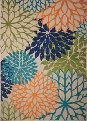 Nourison Aloha Alh05 Multicolor Area Rug