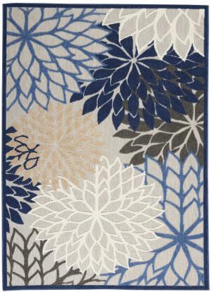 Nourison Aloha Alh05 Blue - Multicolor Area Rug