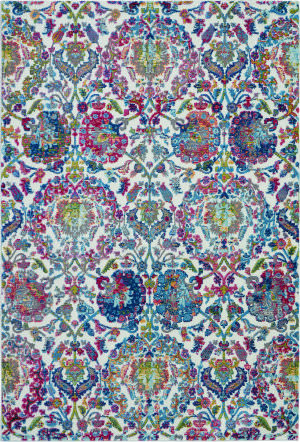 Nourison Ankara Global Anr06 Ivory - Blue Area Rug