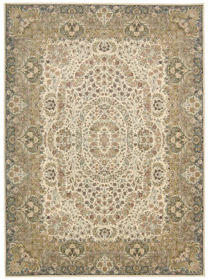 Kathy Ireland Ki11 Antiquities Ant05 Ivory Area Rug