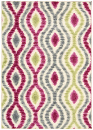 Nourison Waverly Aura Flora Aof01 Jazzberry Area Rug