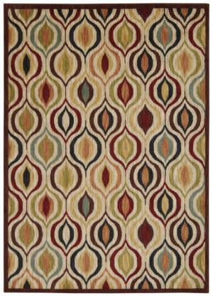 Nourison Aristo Ars03 Multicolor Area Rug