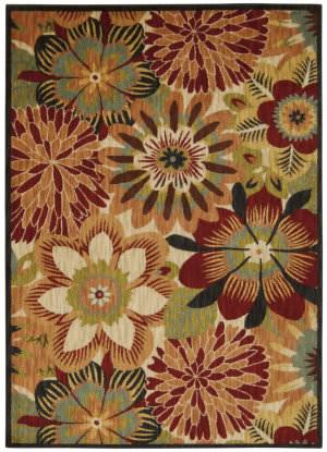 Nourison Aristo Ars09 Multicolor Area Rug