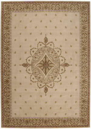 Nourison Ashton House AS-01 Beige Area Rug