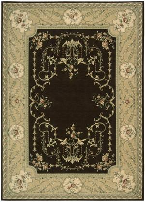 Nourison Ashton House AS-36 Brown Area Rug