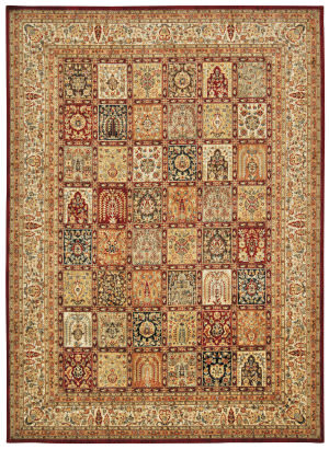 Kathy Ireland Babylon Bab04 Multicolor Area Rug