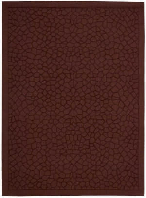 Nourison Barcelona Bar01 Brick Area Rug