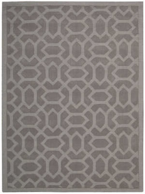Nourison Barcelona Bar02 Grey Area Rug